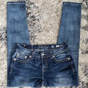 Miss Me Mid Rise Skinny Jeans.  Size 30.